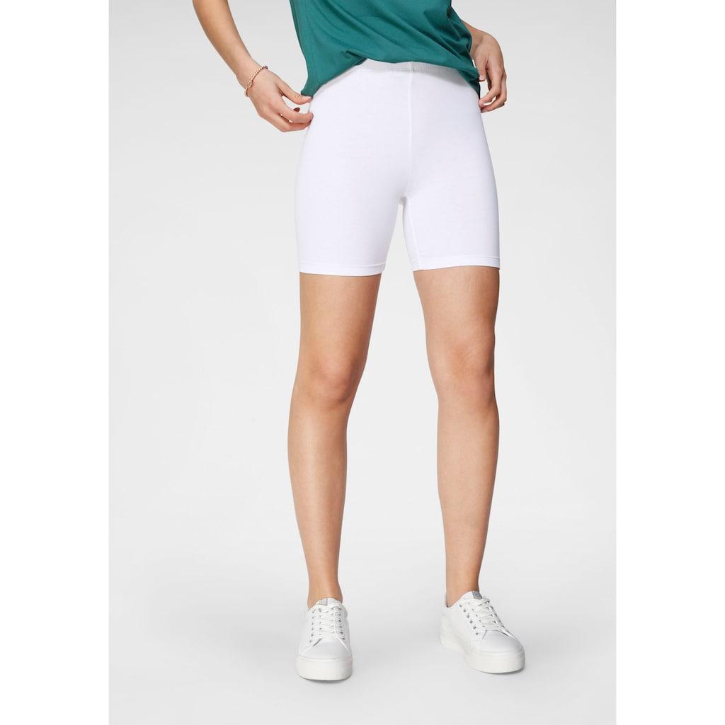 Tamaris Radlerhose, (2er-Pack), zum Unterziehen unter Kleidern und Röcken