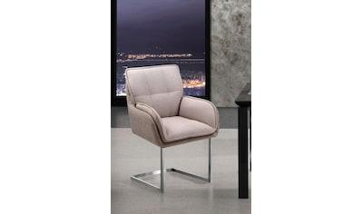 Places of Style Esszimmerstuhl »Durham«, 2er-Set in modernem Design, Sitz und Rücken... kaufen