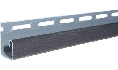 Baukulit VOX Abschlussprofil »SOFFIT Graphit«, für Dachüberstand, je 1,525 m kaufen