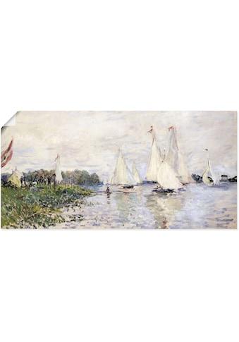 Artland Wandbild »Regatta in Argenteuil. 1874« kaufen