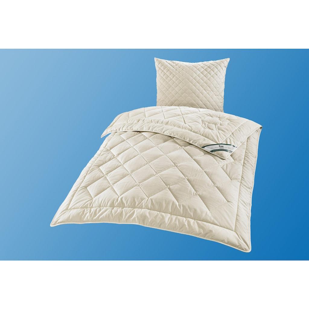 f.a.n. Schlafkomfort Naturhaarbettdecke »Gobi«, normal, Füllung 97% Kamelhaar - waschbar, 3% sonstige Fasern, Bezug 100% Baumwolle, (1 St.), hohes Wärmerückhaltevermögen, angehmen klimatisierendes und trockenes Schlafklima