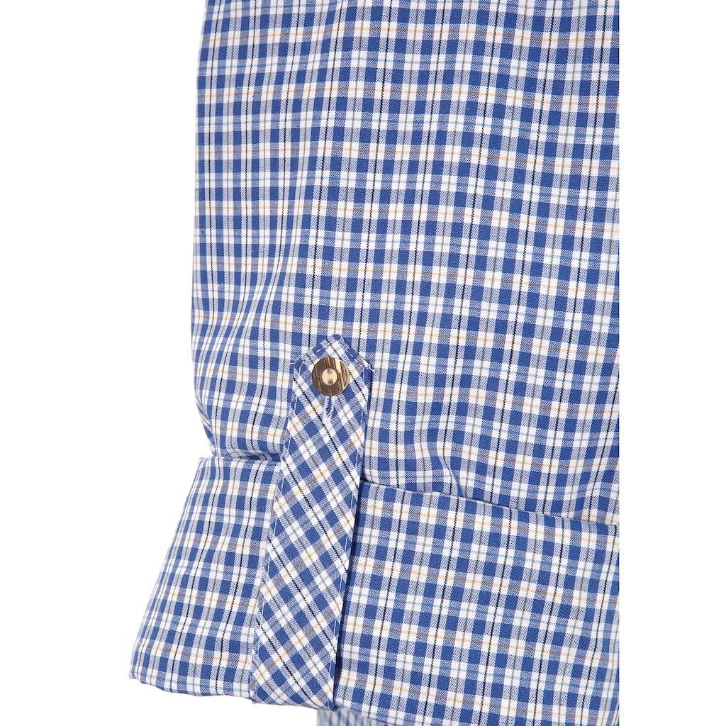 OS-Trachten Trachtenhemd, im Karo-Look