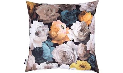 TOM TAILOR Kissenhülle »VELVET FLOWERS«, (1 St.) kaufen