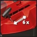 EINHELL Set: Akku-Rasenmäher »RASARRO«, 38 cm Schnittbreite, mit 2 Akkus und Twincharger
