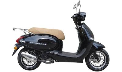 GT UNION Motorroller »Medina«, 50 ccm, 45 km/h, Euro 4, schwarz, ohne Topcase kaufen