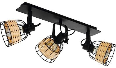 EGLO Deckenspot »Anwick 1«, E27, schwarz / L67 x H24 x B14 cm / exkl. 3 x E27 (je max.... kaufen
