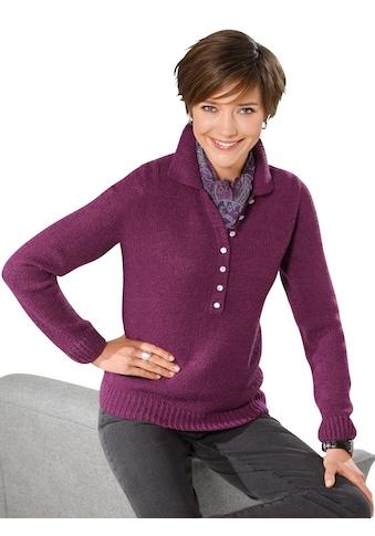Classic Basics Pullover in weicher Bouclé - Qualität kaufen