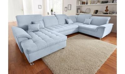 wohnlandschaften in xxl auf rechnung raten kaufen baur. Black Bedroom Furniture Sets. Home Design Ideas