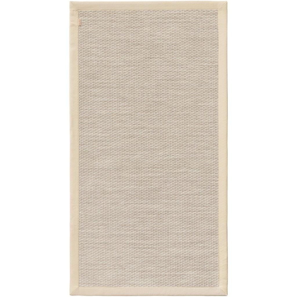 Dekowe Teppich »Naturino Color«, rechteckig, 7 mm Höhe, Flachgewebe, Sisal-Optik, mit Bordüre, In- und Outdoor geeignet, Wohnzimmer