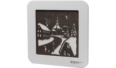 Weigla LED-Bild »Square - Wandbild Seiffen«, (1 St.), mit Timer, einseitiges Motiv kaufen