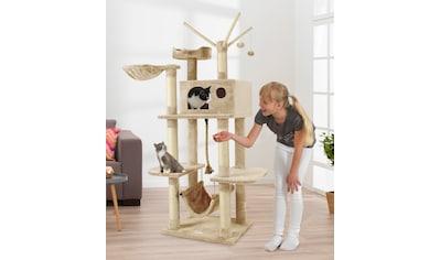 ABUKI Kratzbaum »Mimsi«, BxTxH: 84x53x155 cm, beige kaufen