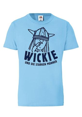 LOGOSHIRT Print-Shirt »Wickie und die starken Männer«, mit lizenziertem Originaldesign kaufen