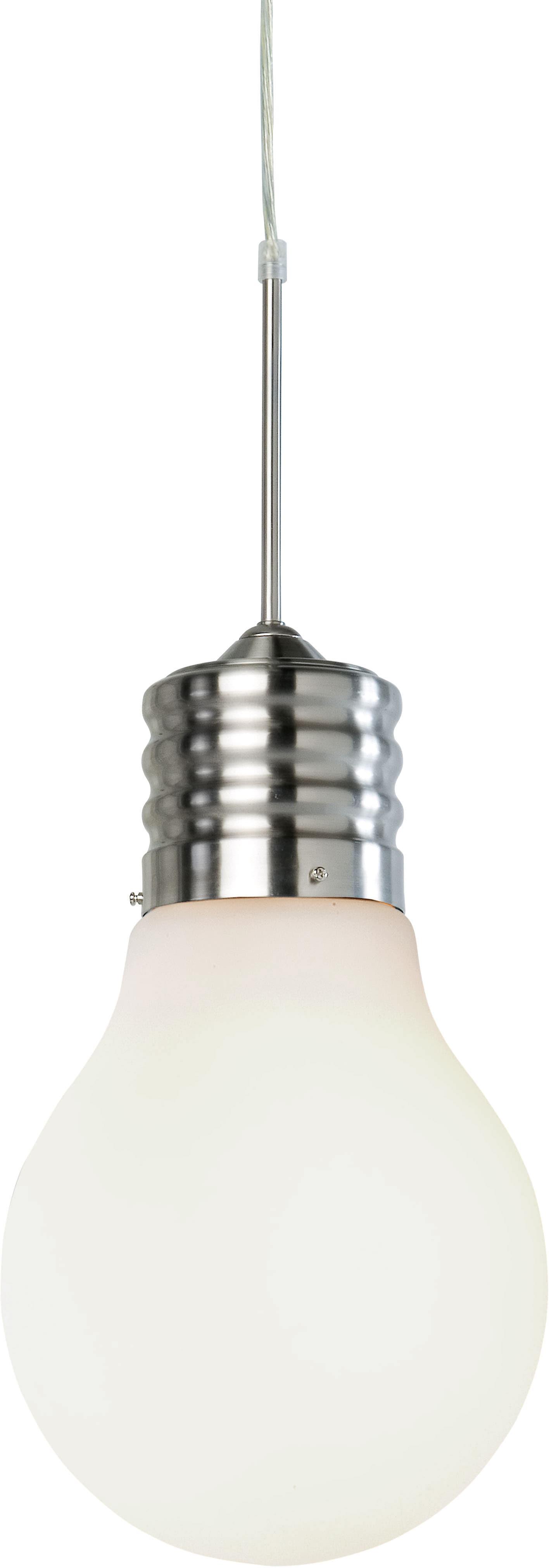 Nino Leuchten Pendelleuchte LUCE, E27, Hängeleuchte, Hängelampe