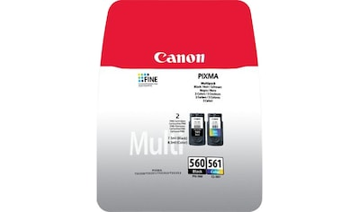 Canon Tintenpatrone »PG-560 und CL-561 Multipack«, (Packung) kaufen