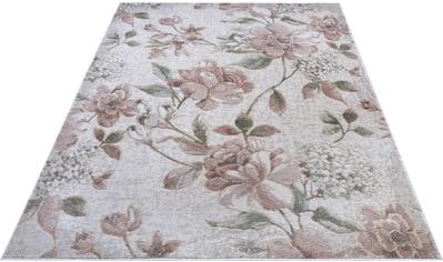 Teppich, »Aubusson Jardin«, NOURISTAN, rechteckig, Höhe 11 mm, maschinell gewebt kaufen