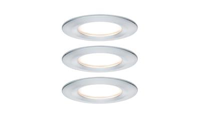 Paulmann,LED Einbaustrahler»starr Nova rund 3x6,5W Alu gedreht«, kaufen