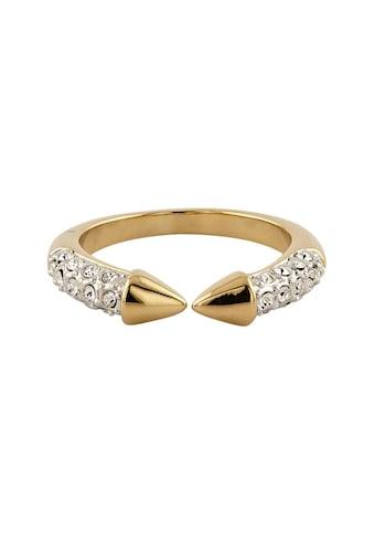 Buckley London Ring vergoldet mit Kristallen kaufen