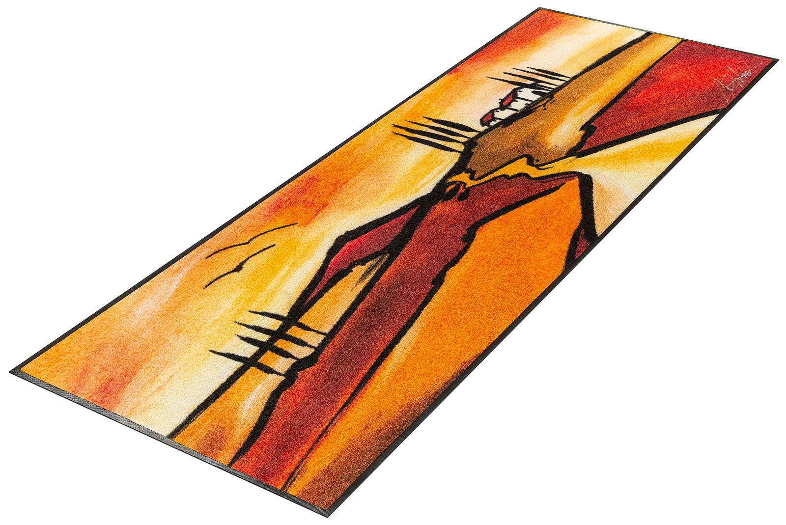 Läufer Tuscan Muse wash+dry by Kleen-Tex rechteckig Höhe 7 mm gedruckt