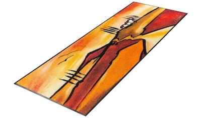 wash+dry by Kleen-Tex Läufer »Tuscan Muse«, rechteckig, 7 mm Höhe, In- und Outdoor... kaufen