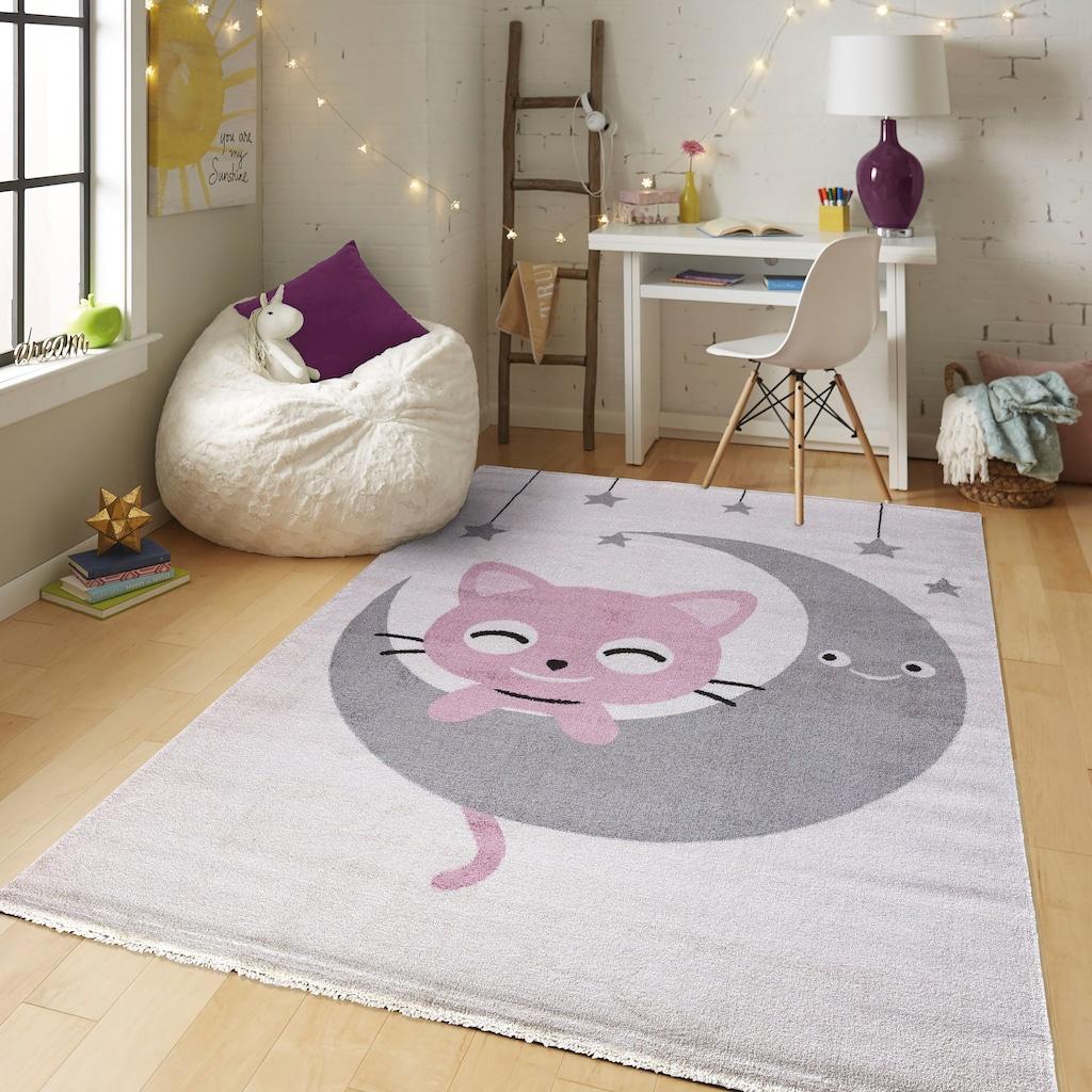 Kinderteppich, »Candy 152«, Festival, rechteckig, Höhe 11 mm, maschinell gewebt