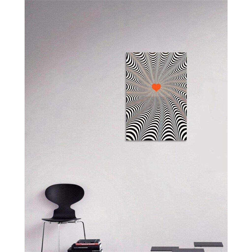 my home Deco-Panel »Twist of the heart«, 68/98 cm