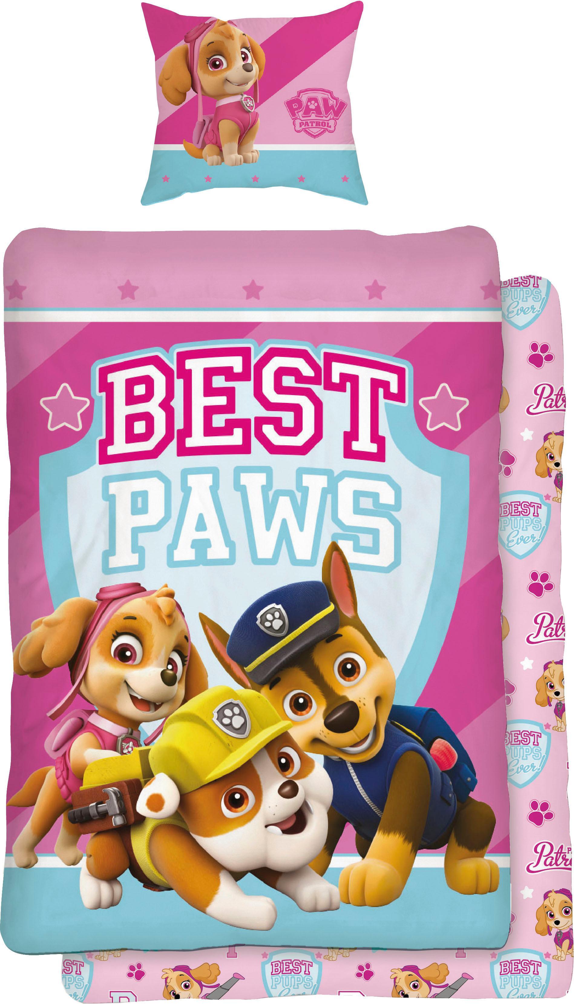 Jugendbettwäsche Best Paws PAW PATROL