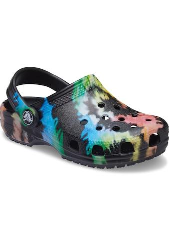 Crocs Clog »Classic Tie Dye Graphic«, mit coolem Batik-Muster kaufen