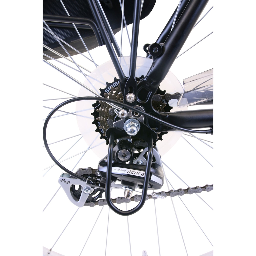 Performance Trekkingrad, 21 Gang, Shimano, ACERA RDM360 Schaltwerk, Kettenschaltung