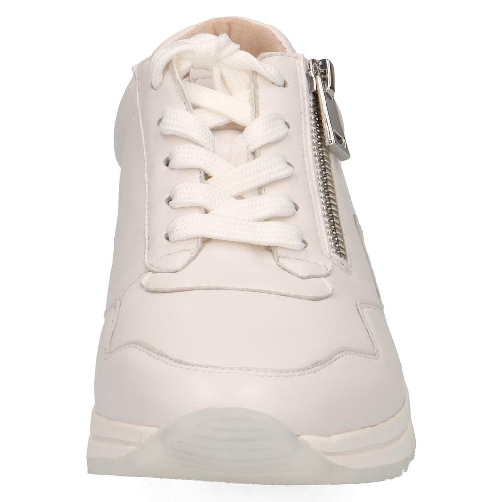 Caprice Sneaker, mit praktischem Außenreißverschluss