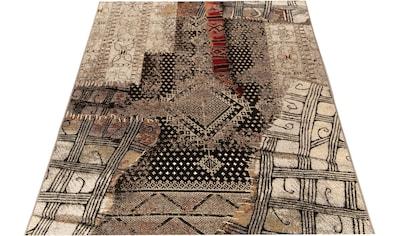 Gino Falcone Teppich »Outdoor-Africa 37«, rechteckig, 5 mm Höhe, Flachgewebe, In- und Outdoor geeignet, Wohnzimmer kaufen