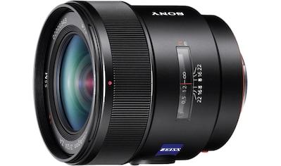 Sony Objektiv »Vollformat Weitwinkel - Objektiv, 24 mm F2.0 Z« kaufen
