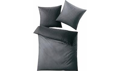 Kleine Wolke Wendebettwäsche »Punto«, mit graphischem Muster kaufen