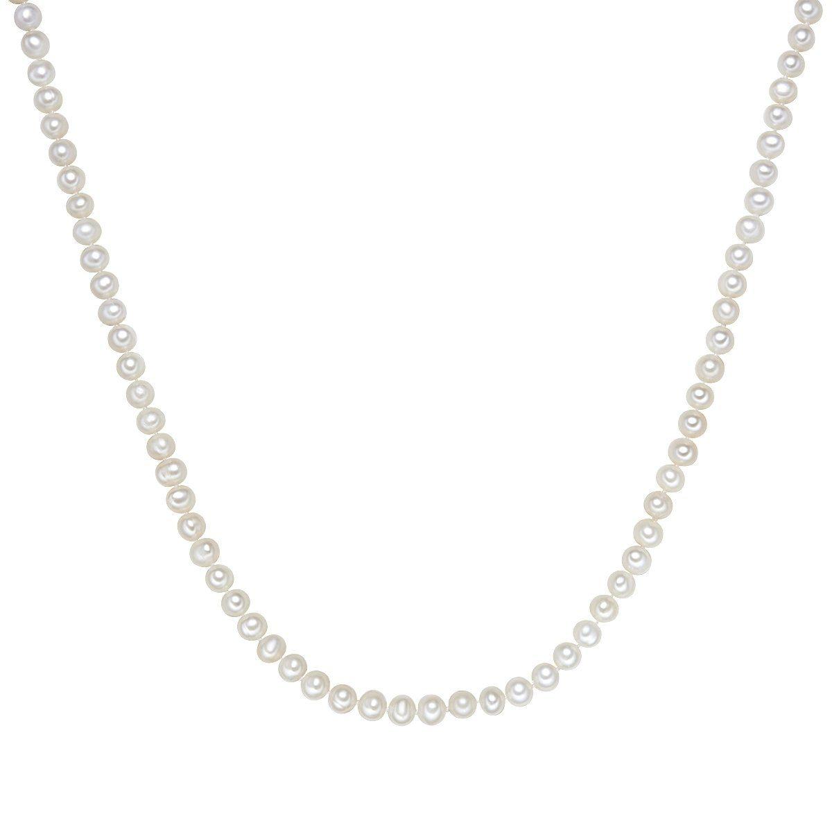 Valero Pearls Perlenkette X117 | Schmuck > Halsketten > Perlenketten | Weiß | Valero Pearls