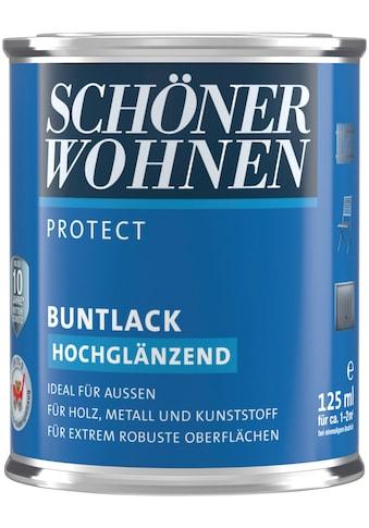 SCHÖNER WOHNEN-Kollektion Lack »Protect«, hochglänzend, 125 ml, erdbraun kaufen