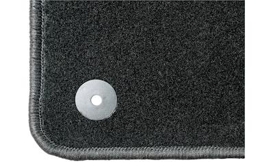 WALSER Passform-Fußmatten »Standard«, (4 St.), für Nissan Micra (K13) Bj 11/2010 - Heute kaufen