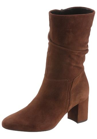 Gabor Stiefel, mit modischen Raffungen am Schaft kaufen