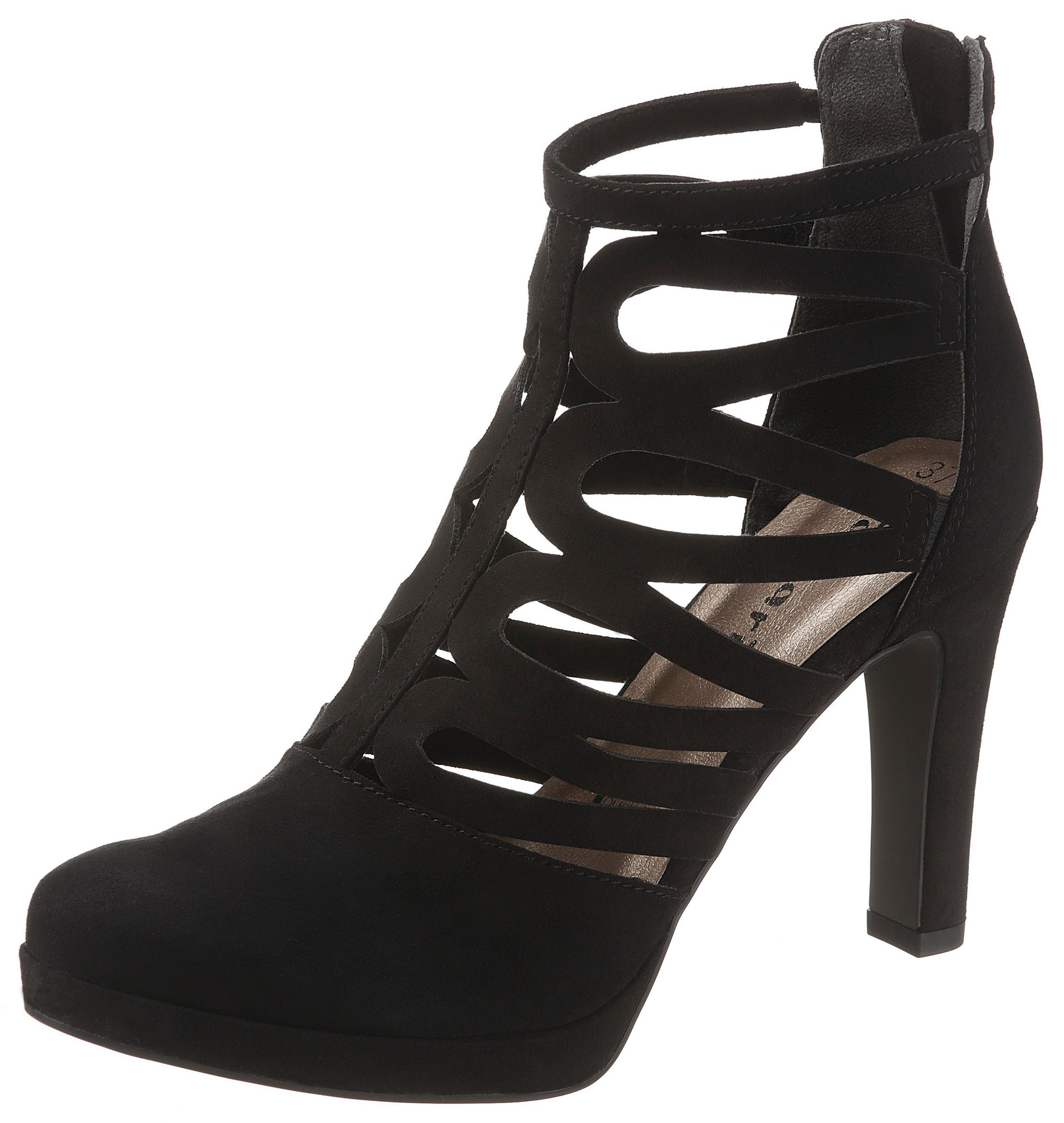 Tamaris High-Heel-Stiefelette | Schuhe > High Heels | Schwarz | Tamaris