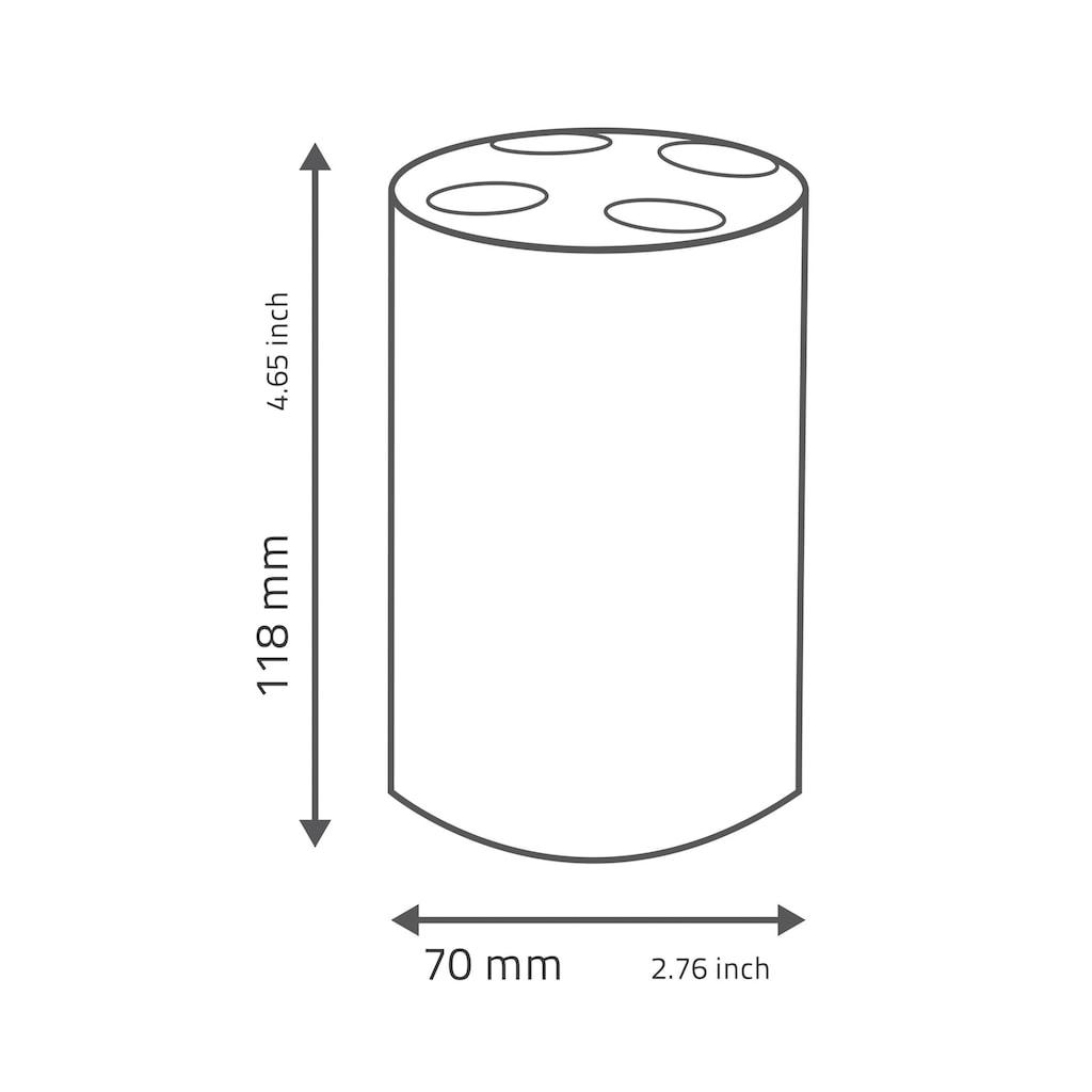 Ridder Zahnbürstenhalter »Touch«, mit Soft-Touch Oberfläche