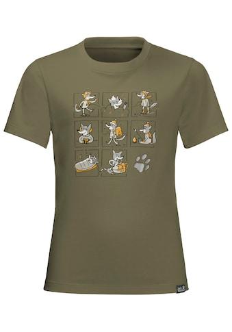 Jack Wolfskin Kurzarmshirt »MANY WOLVES T KIDS« kaufen