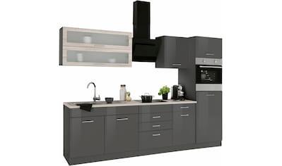 HELD MÖBEL Küchenzeile »Utah«, ohne E-Geräte, Breite 270 cm kaufen