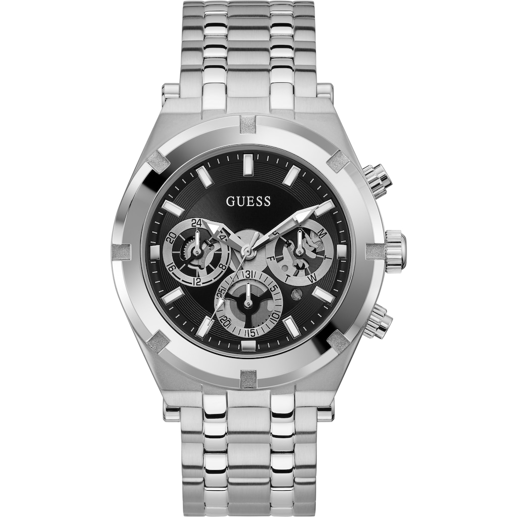 Guess Multifunktionsuhr »CONTINENTAL, GW0260G1«