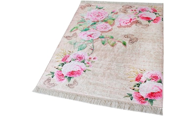 Teppich, »Caimas 2130«, Sehrazat, rechteckig, Höhe 5 mm, gedruckt kaufen