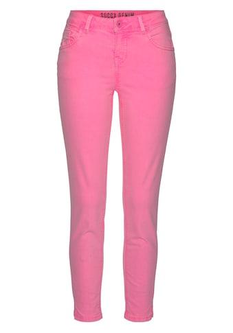 SOCCX Straight-Jeans, aus Stretch-Denim kaufen