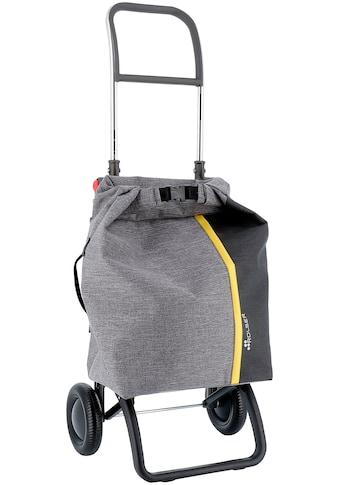 Rolser Einkaufstrolley »Logic RG Roll Top Tweed«, gris, Max. Tragkraft: 40 kg, Tasche... kaufen