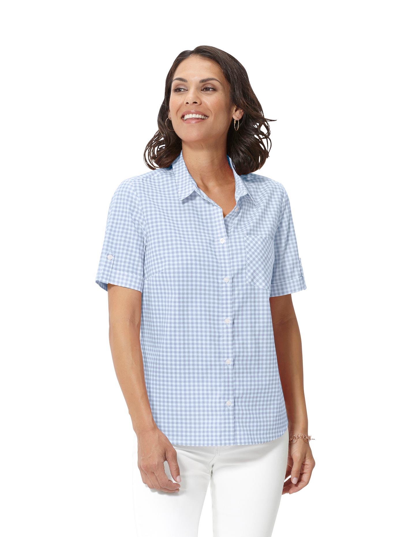 Casual Looks Bluse mit Hemdkragen