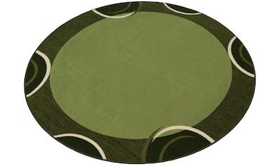 Teppich, »Loures«, THEKO, rund, Höhe 6 mm, maschinell getuftet kaufen