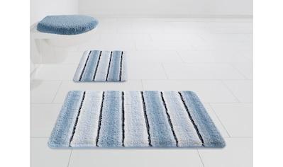 Badematte »Stripes«, Home affaire, Höhe 7 mm kaufen