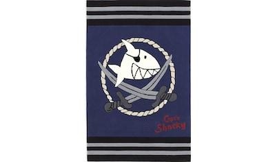 Capt`n Sharky Kinderteppich »SH-2937-01«, rechteckig, 10 mm Höhe, handgearbeiteter... kaufen