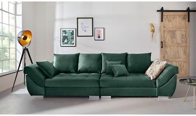 INOSIGN Big-Sofa »Rome«, Steppung im Sitzbereich, Federkern-Polsterung kaufen