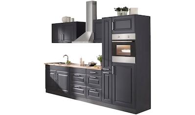 HELD MÖBEL Küchenzeile »Stockholm«, mit E - Geräten, Breite 300 cm kaufen